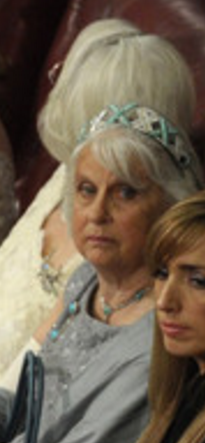Lady Geddes wearing the Hesse Turquoise Tiara - Zimbio