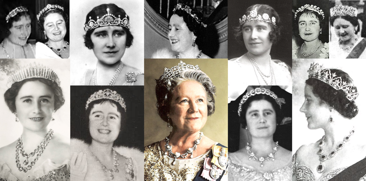 Queen Mother's Tiaras