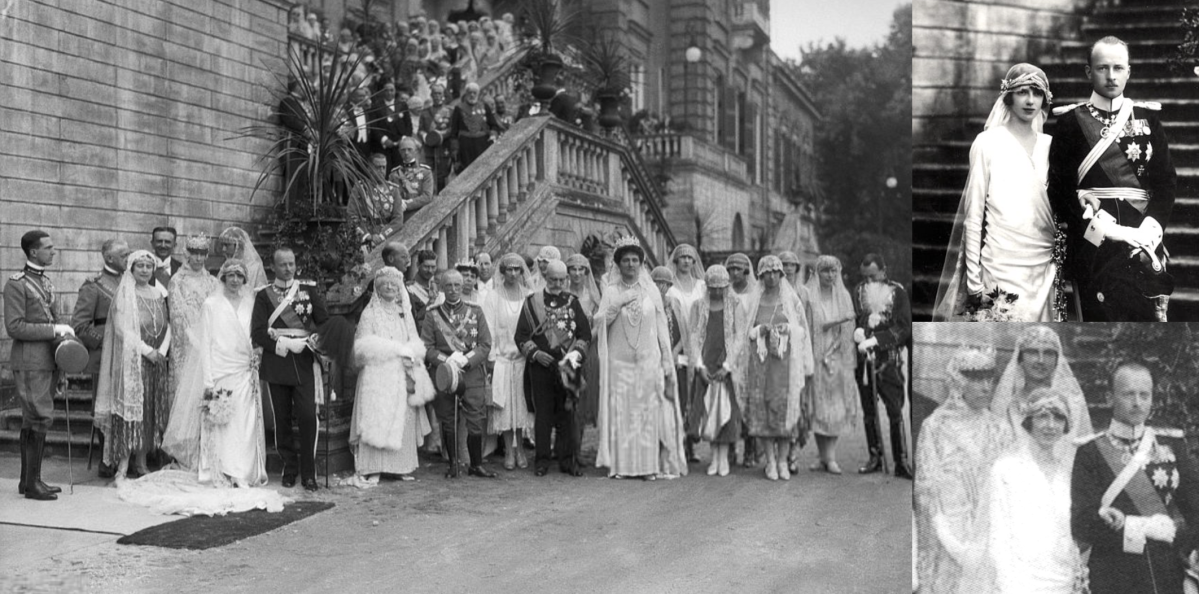 Wedding of Prince Philipp of Hesse and Princess Mafalda of Savoy, 1925