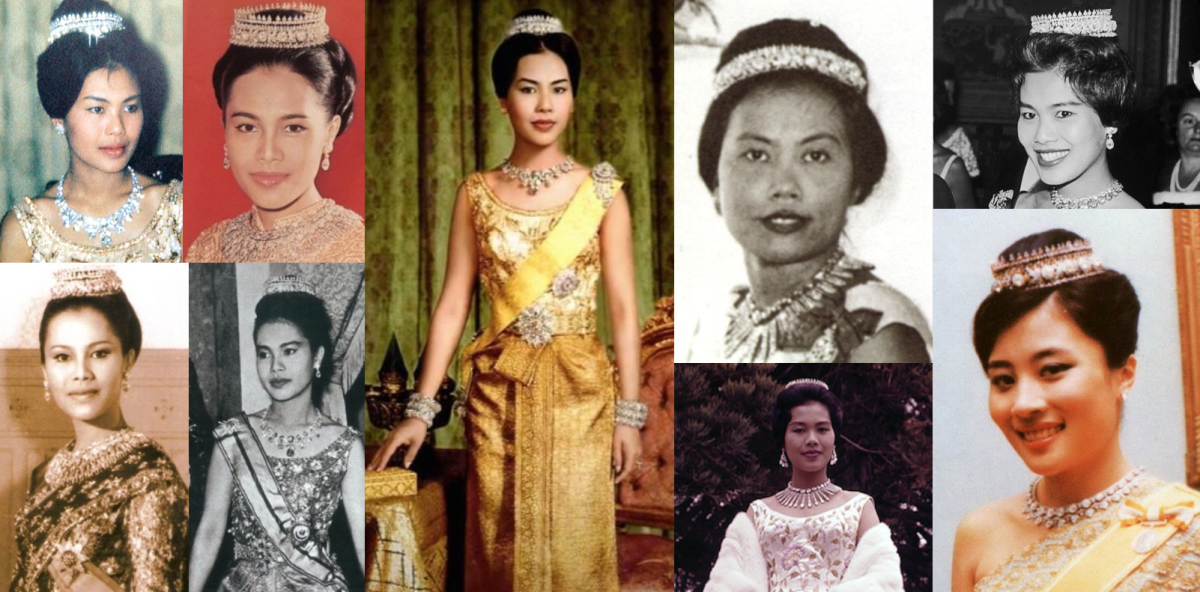 Queen Sirikit's Thai Tiara