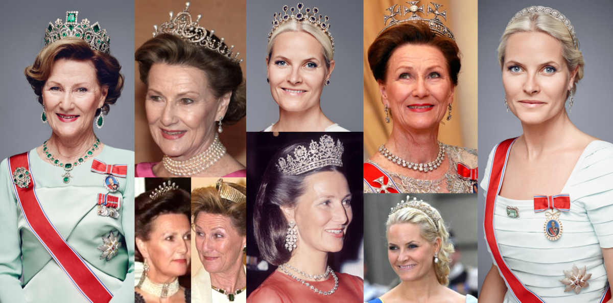 Norwegian Royal Tiaras