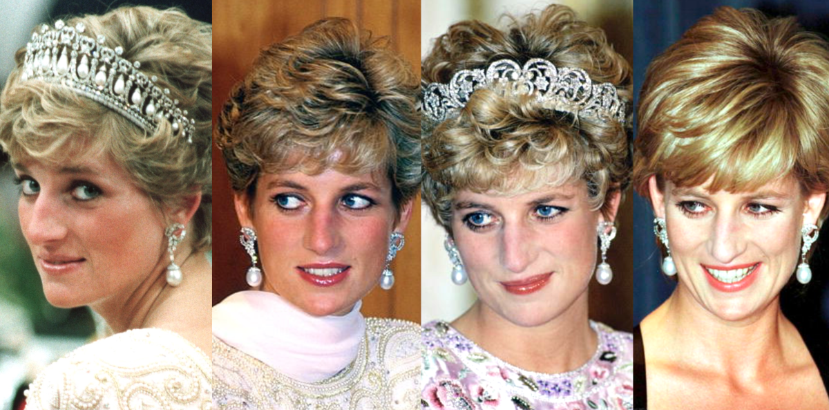 Princess Diana's South-Sea Pearl Earrings