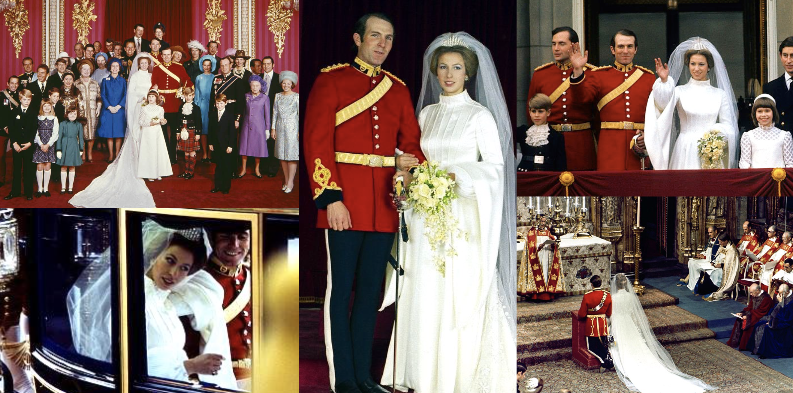 Wedding of Princess Anne and Captain Mark Phillips | The Royal Watcher