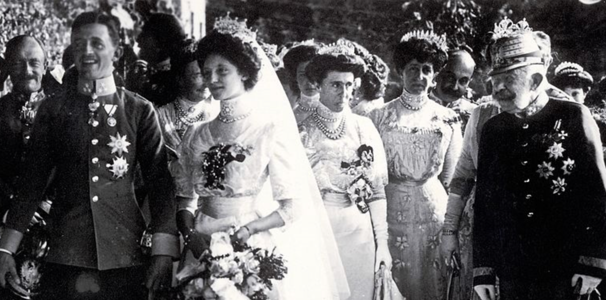 Wedding of Emperor Karl and Empress Zita of Austria, 1911