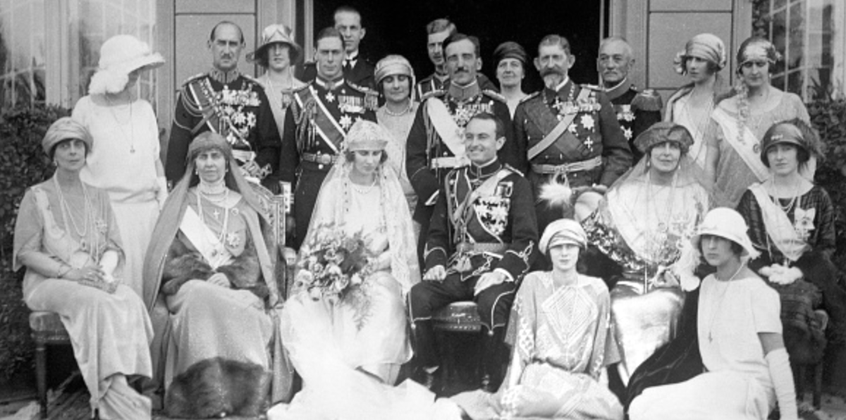 Wedding of Prince Paul of Yugoslavia and Princess Olga of Greece