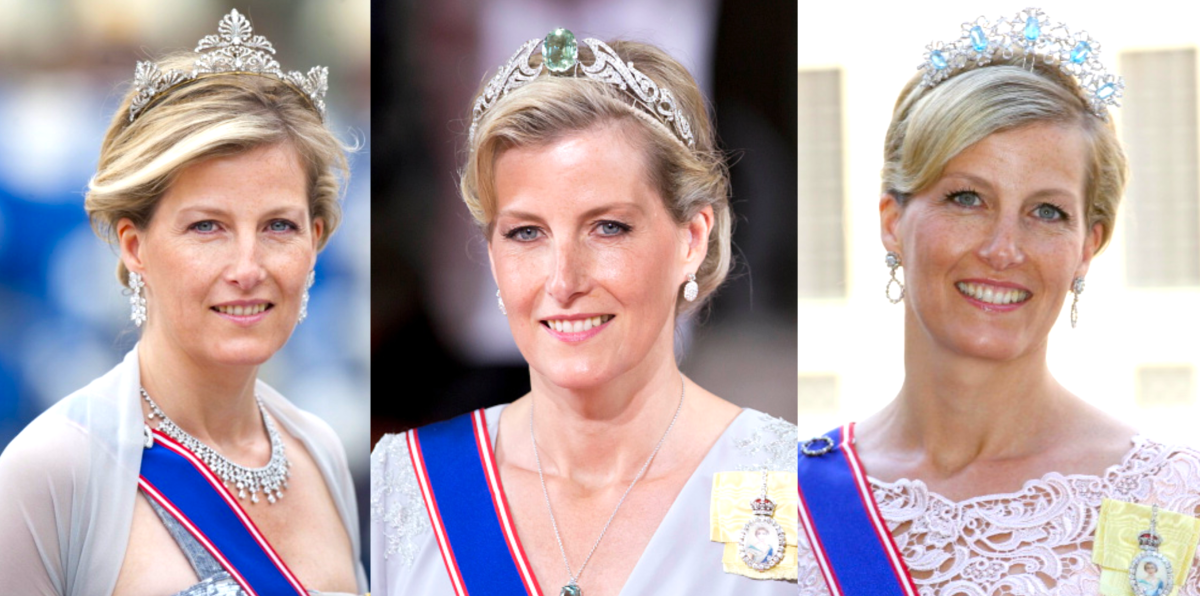 Countess of Wessex's Tiaras