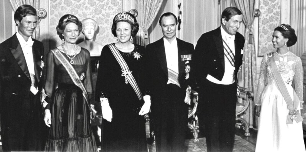 Dutch State Visit to Luxembourg, 1981