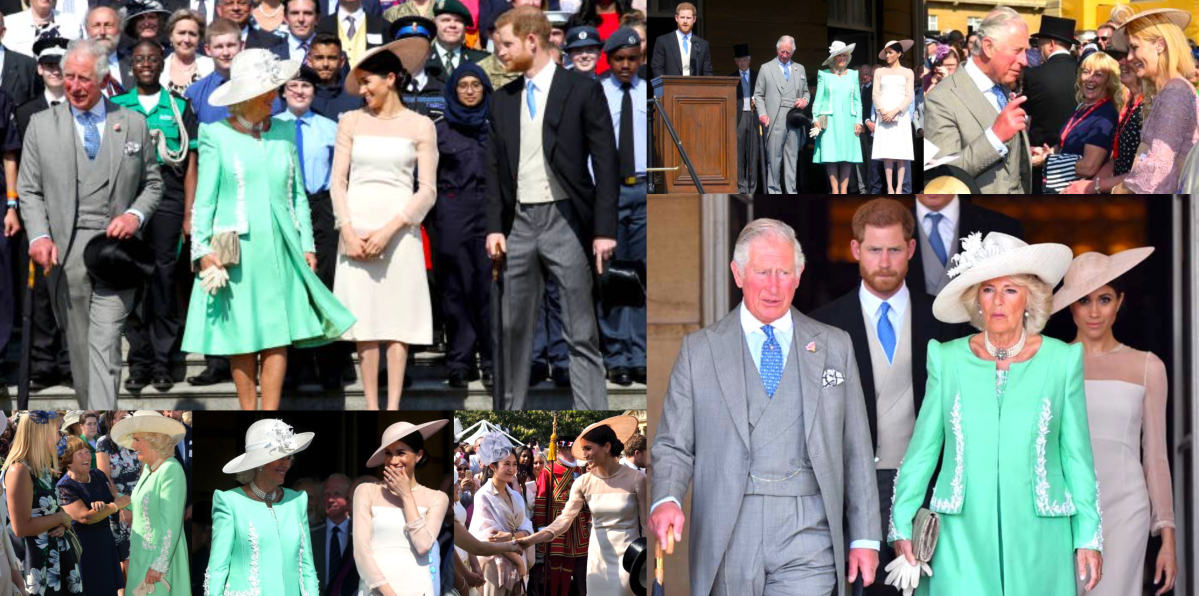 Prince of Wales's 70th Birthday Garden Party at Buckingham Palace