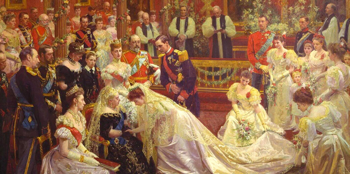 Wedding of Prince Carl of Denmark and Princess Maud of Wales, 1896