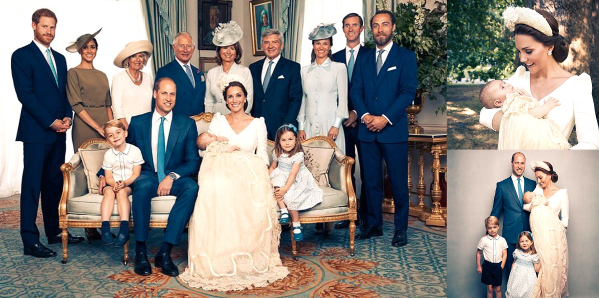 Prince Louis' Official Christening Portraits
