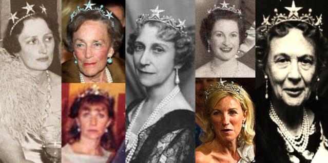 Princess Ingeborg S Turquoise Star Tiara The Royal Watcher