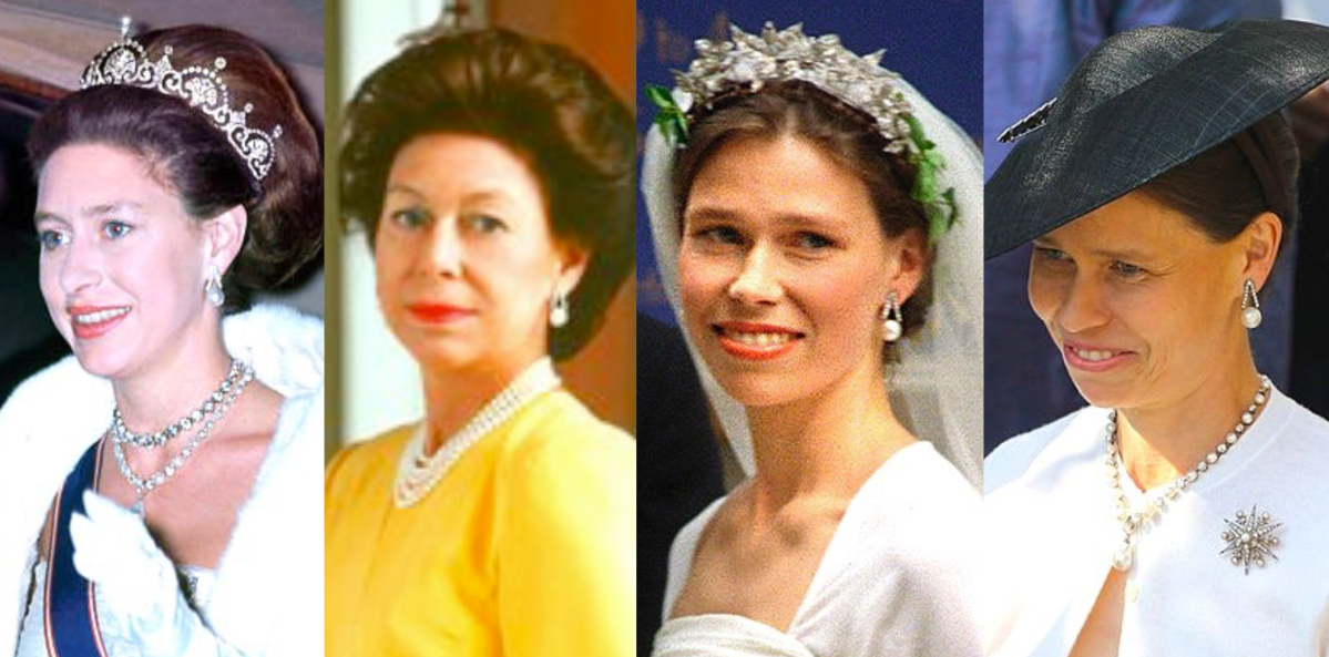 Princess Margaret's Pearl Earrings