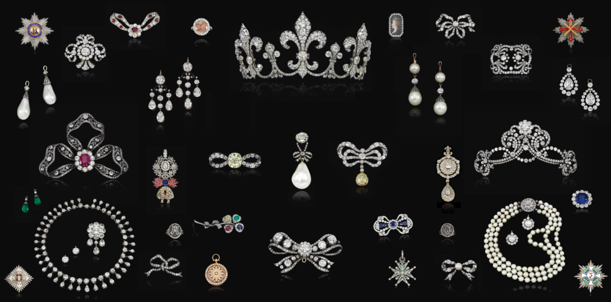 Royal Jewels from the Bourbon Parma Family