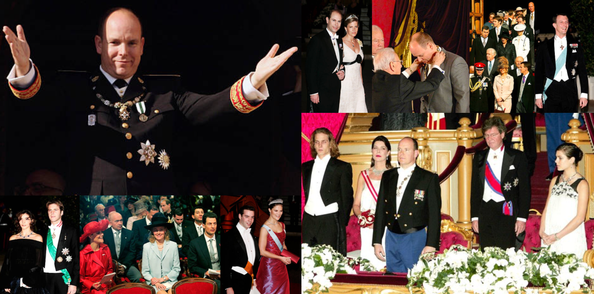 Enthronement of Prince Albert II of Monaco, 2005