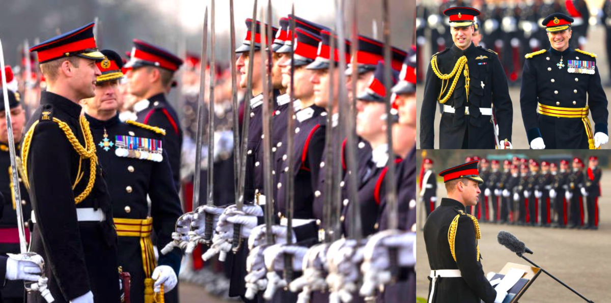 Sovereign's Parade at Sandhurst