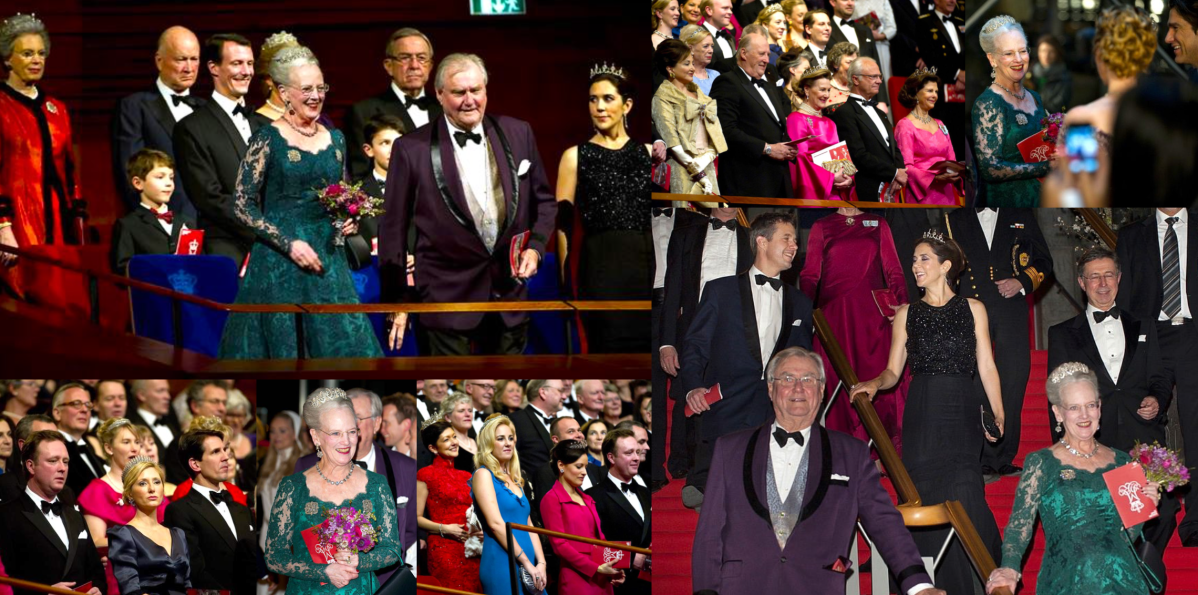Queen Margrethe's Ruby Jubilee Gala, 2012
