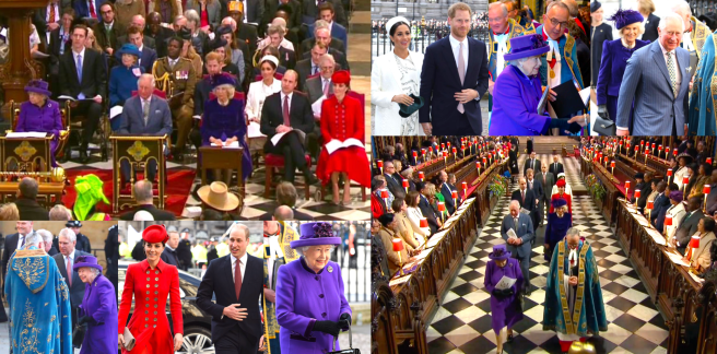 Commonwealth Service at Westminster Abbey 2019 | The Royal