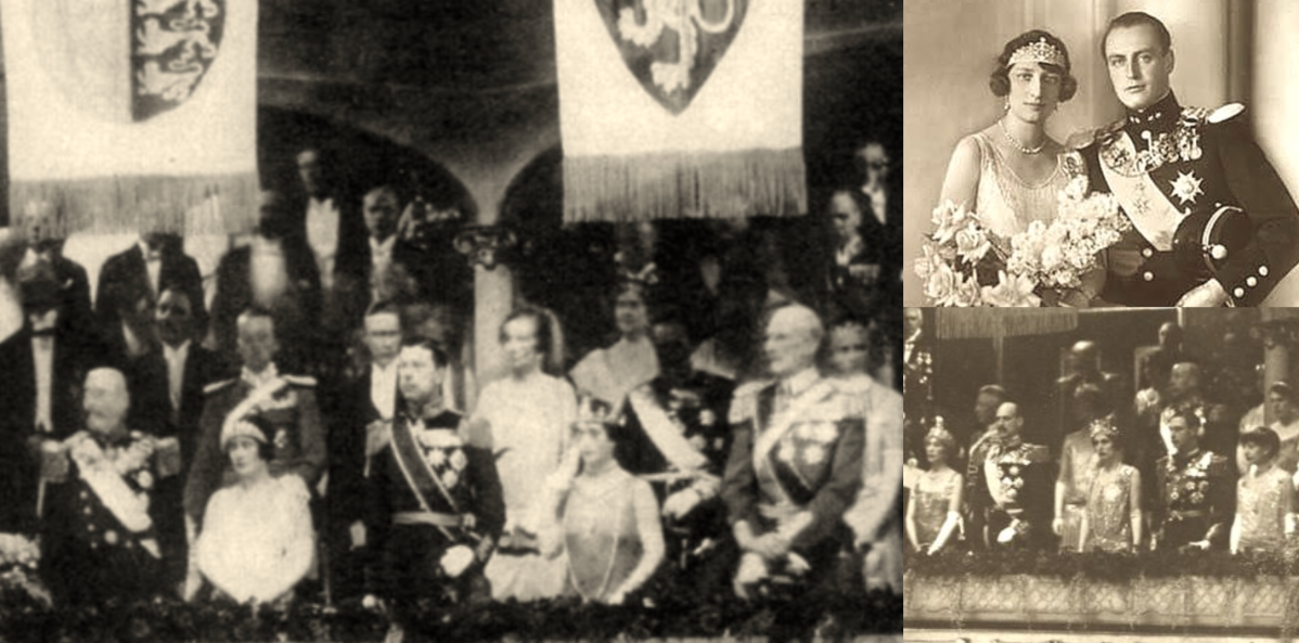 Wedding Gala of Crown Prince Olav of Norway and Princess Martha of Sweden, 1929
