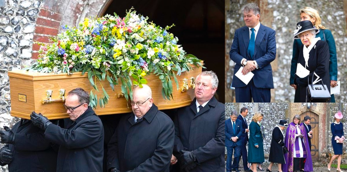 Funeral of Jean, Countess of Carnarvon