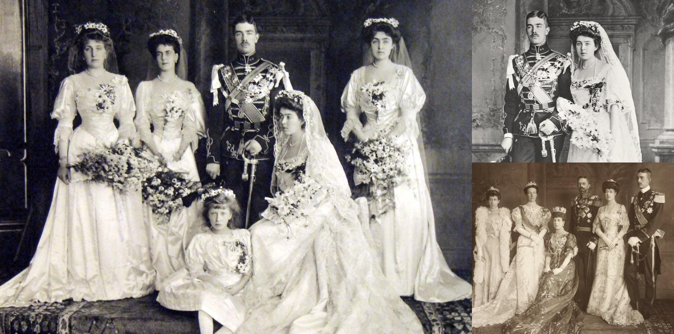 Wedding Of Prince Gustaf Adolf Of Sweden And Princess Margaret Of