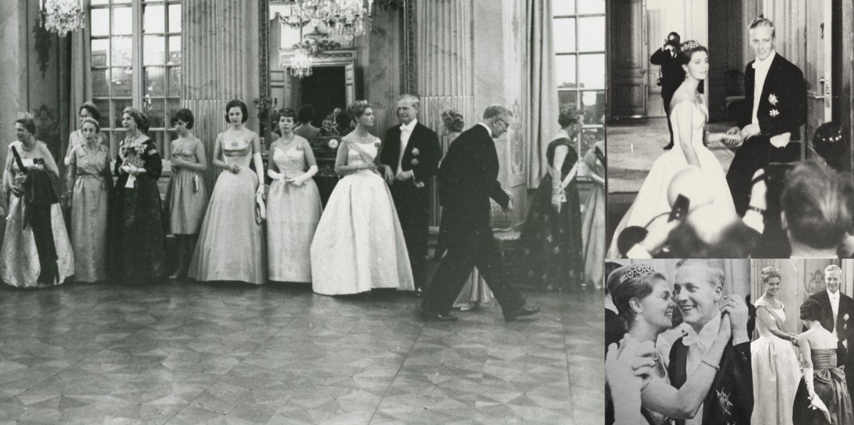 Wedding Ball of Princess Birgitta of Sweden and Prince Johann Georg of Hohenzollern, 1961