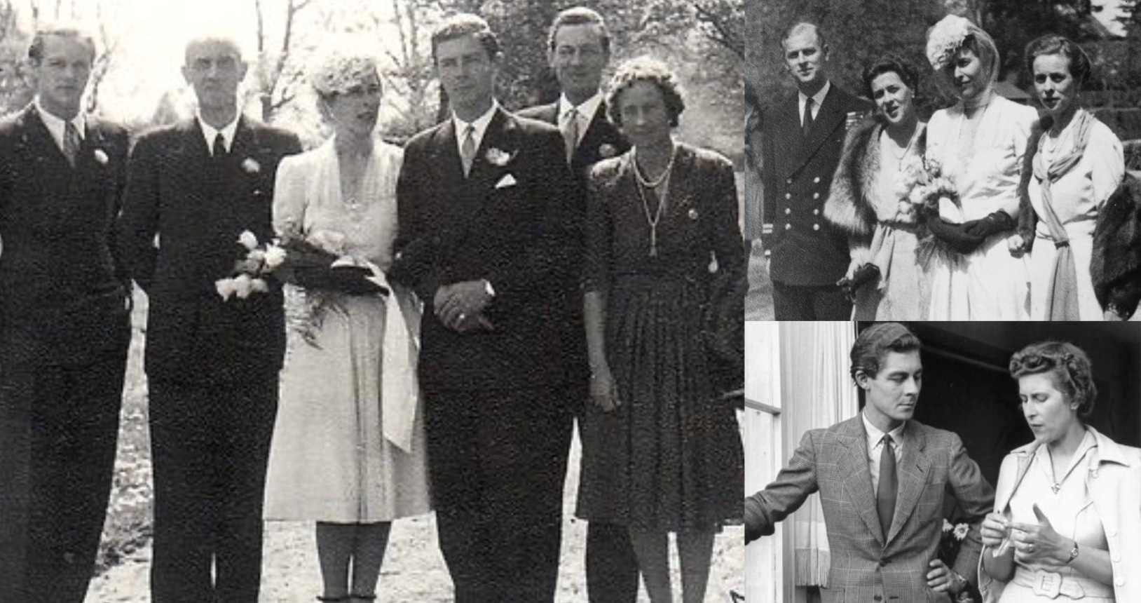 Wedding of Prince George William of Hanover and Princess Sophie of Greece, 1946